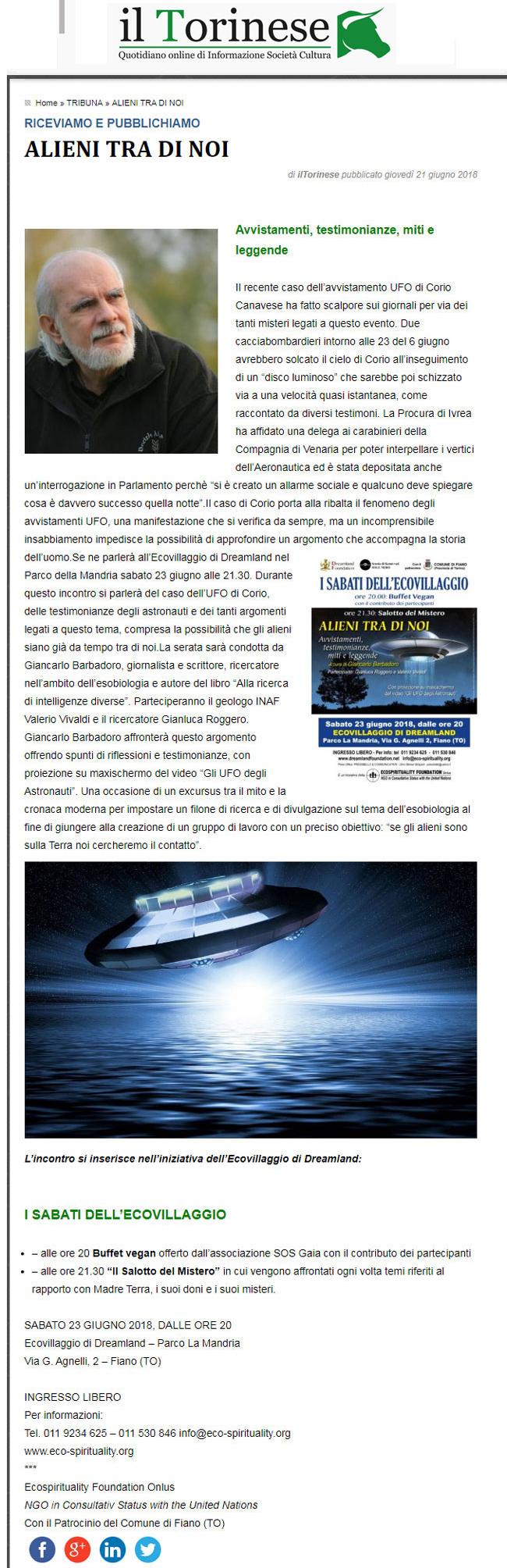 il-torinese-21-06-2018-i-sabati-dell-ecovillaggio-conferenza-alieni-tra-noi-23-giugno-2018